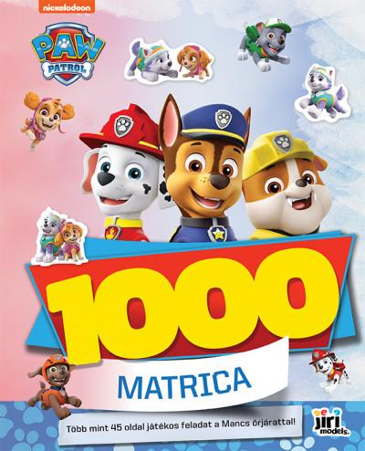 - 1000 matrica - Mancs őrjárat
