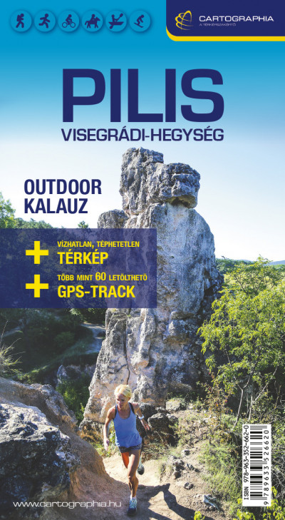 - Pilis, Visegrádi-hegység 4in1 outdoor kalauz + turista- kerékpáros- és lovas térkép