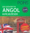 Bikics Milán - Eff Balázs - PONS szókártya ANGOL kifejezések A2-B2