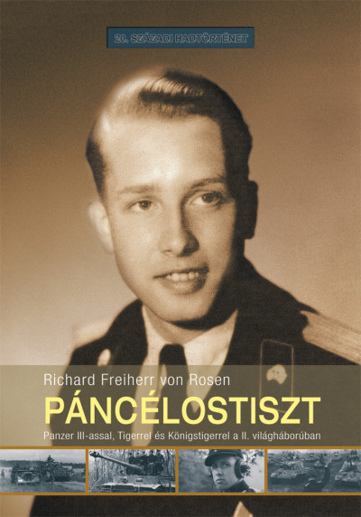 Richard Freiherr Von Rosen - Páncélostiszt
