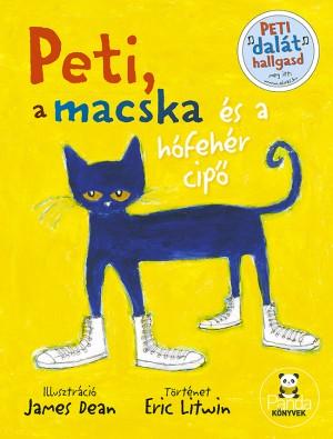 Eric Litwin - Peti, a macska �s a h�feh�r cip�