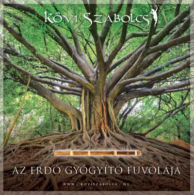 Kövi Szabolcs - Az erdő gyógyító fuvolája - karton tokos CD