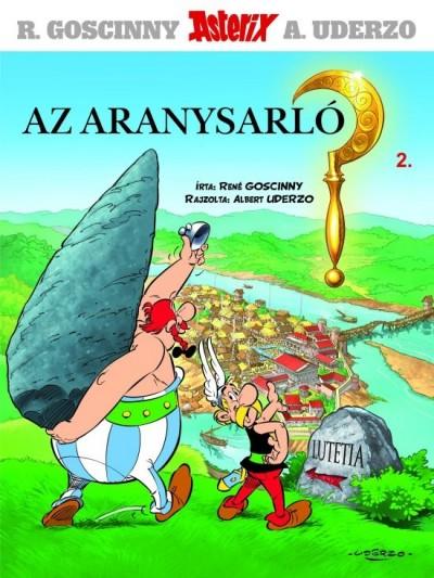 Ren� Goscinny - Asterix 2. - Az aranysarl�