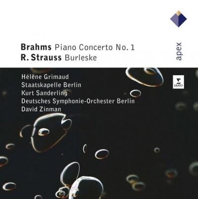 - Brahms: D-moll zongoraverseny No.1 - Strauss: Burleszk