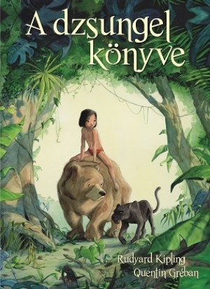 Meseszép rajzokkal elevenedik meg újra A dzsungel könyve ...