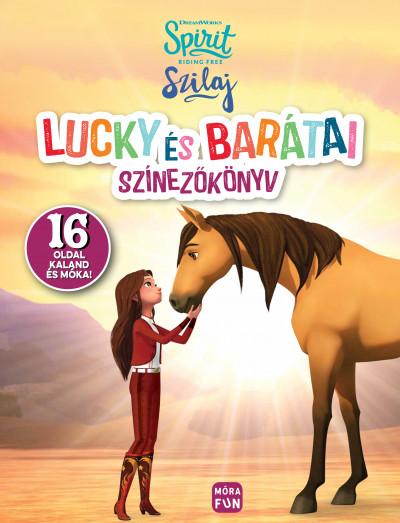 - Szilaj - Lucky és barátai - Színezőkönyv