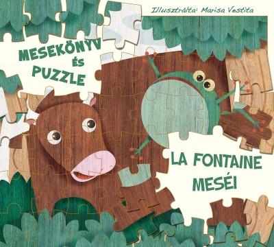 - La Fontaine meséi - mesekönyv és puzzle