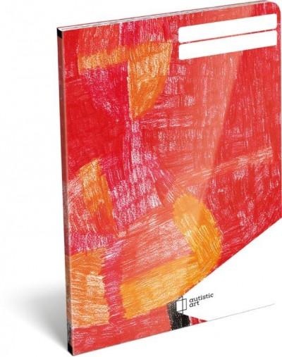 - Füzet tűzött A/5 vonalas - Autistic Art - Bihari László 18612099