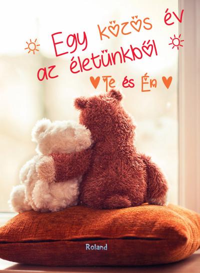 Lengyel Orsolya  (Szerk.) - Te és Én - Egy közös év az életünkből (macis borító)