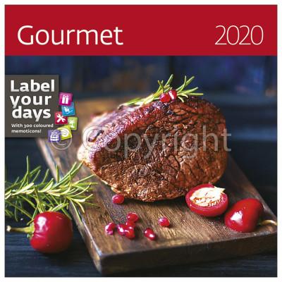 - Dayliner falinaptár - Gourmet LP 2020