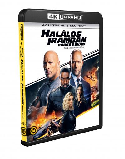 David Leitch - Halálos iramban: Hobbs és Shaw - 4K Ultra HD + Blu-ray