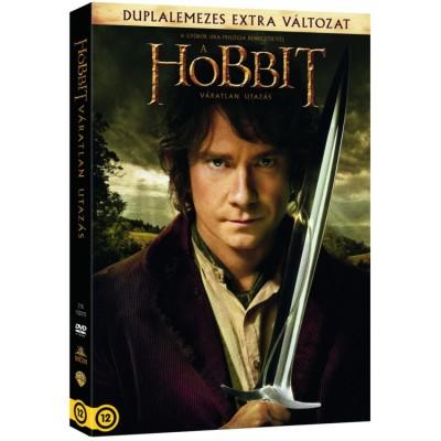 Peter Jackson - A Hobbit - Váratlan utazás - Duplalemezes extra változat - 2 DVD