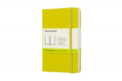 """- Moleskine notesz - QP012M18 kemény pitypang sárga """"P"""" - sima"""