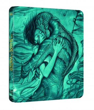 Guillermo Del Toro - A víz érintése - Steelbook - Blu-ray
