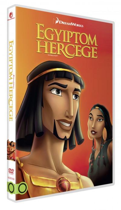 Brenda Chapman - Steve Hickner - Simon Wells - Egyiptom hercege (DreamWorks gyűjtemény) - DVD