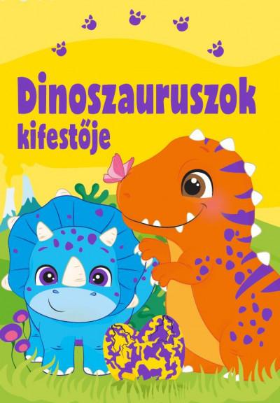 Bóka Fruzsina  (Szerk.) - Dinoszauruszok kifestője
