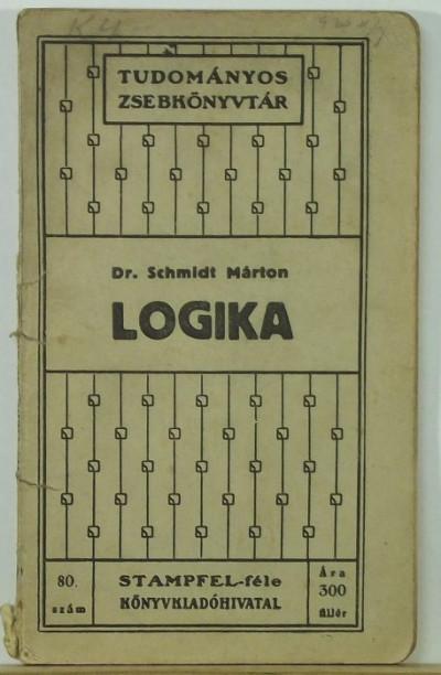 Dr. Schmidt Márton - Logika