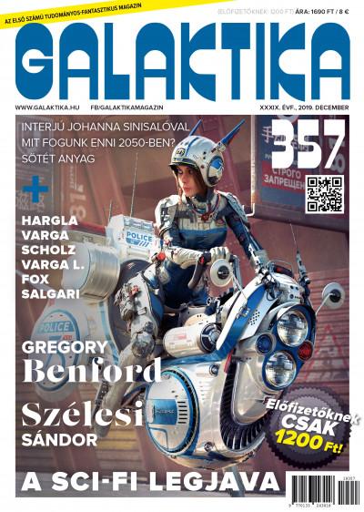 Németh Attila  (Szerk.) - Galaktika Magazin 357.szám - 2019. december