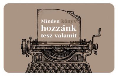 - Ajándékkártya - Írógép