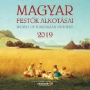 - Magyar Festők Alkotásai 30x30 cm - Naptár 2019