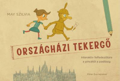 May Szilvia - Országházi tekergő (foglalkoztató füzet)