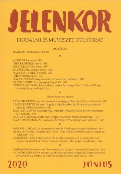 - Jelenkor - Irodalmi és művészeti folyóirat - 2020. június