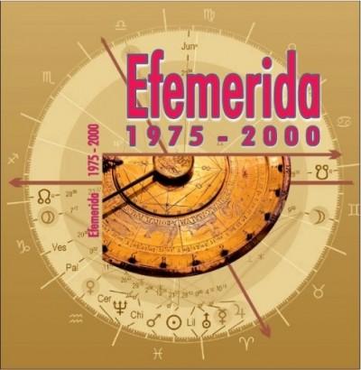 - Efemerida 1975-2000