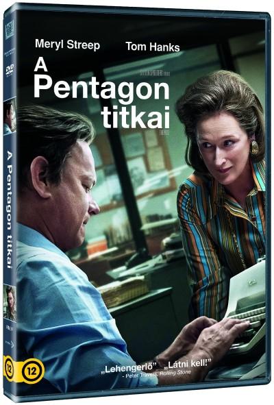 Steven Spielberg - A pentagon titkai - DVD
