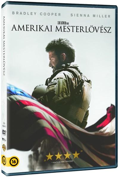 Clint Eastwood - Amerikai mesterlövész - DVD
