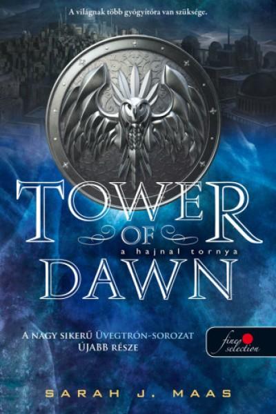 Sarah J. Maas - A hajnal tornya (Üvegtrón 6.) - kemény kötés
