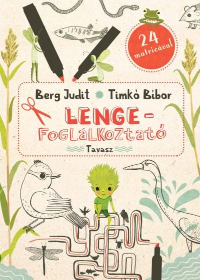 Berg Judit - Lenge-foglalkoztató - Tavasz + DVD