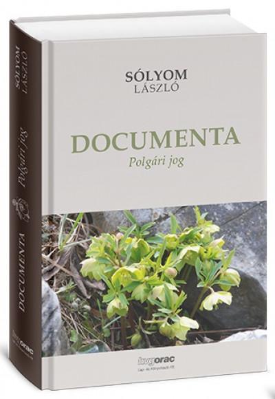 Sólyom László - Documenta 1-3. kötet