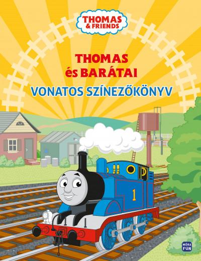 - Thomas és barátai - Vonatos színezőkönyv