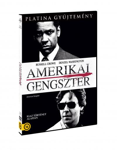 Ridley Scott - Amerikai gengszter - DVD