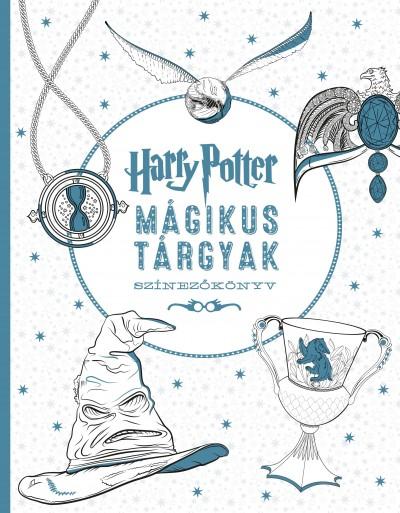 Várlaki Tibor  (Szerk.) - Harry Potter - Mágikus tárgyak színezőkönyv