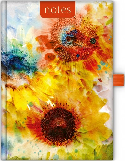 - Dayliner Notes Colors A5 vonalas - Sunflower