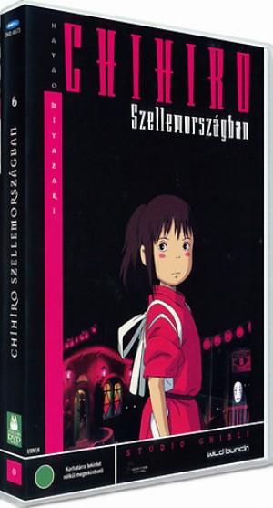 Hayao Miazaki - Chihiro szellemorsz�gban - DVD