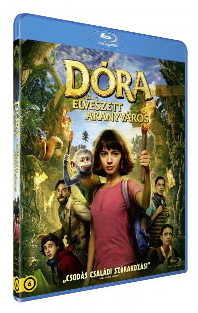 James Bobin - Dóra és az elveszett aranyváros - Blu-ray