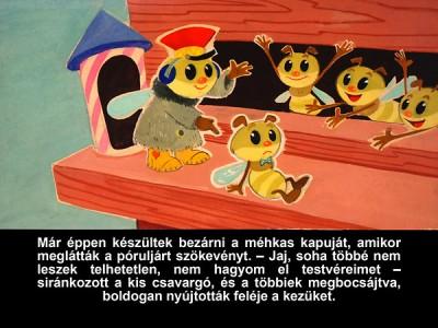 - A telhetetlen méhecske - Diafilm
