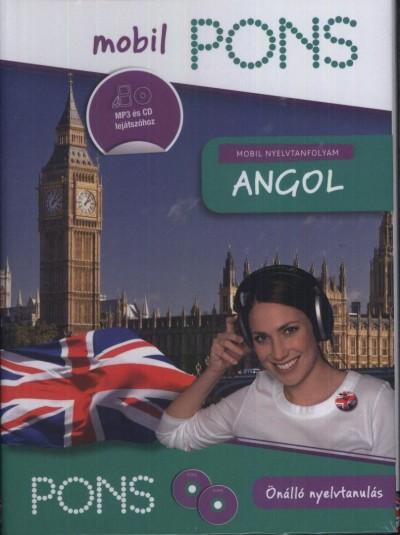 Henrike Wielk - PONS Mobil nyelvtanfolyam - Angol - 2 CD